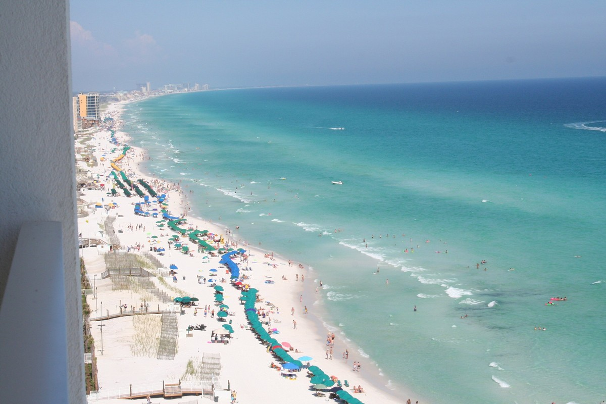 Wyndham panama city florida florida beach resorts for Beautiful beaches in la